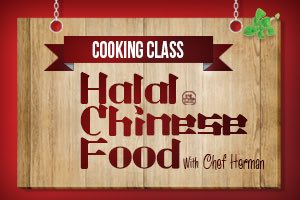 Training Halal Chinese Food
